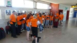 normal Orange people2C vaja na letaliscu v Trstu